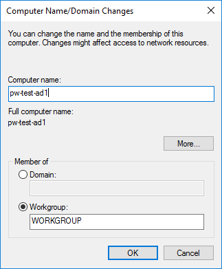 Windows Server Computer Rename