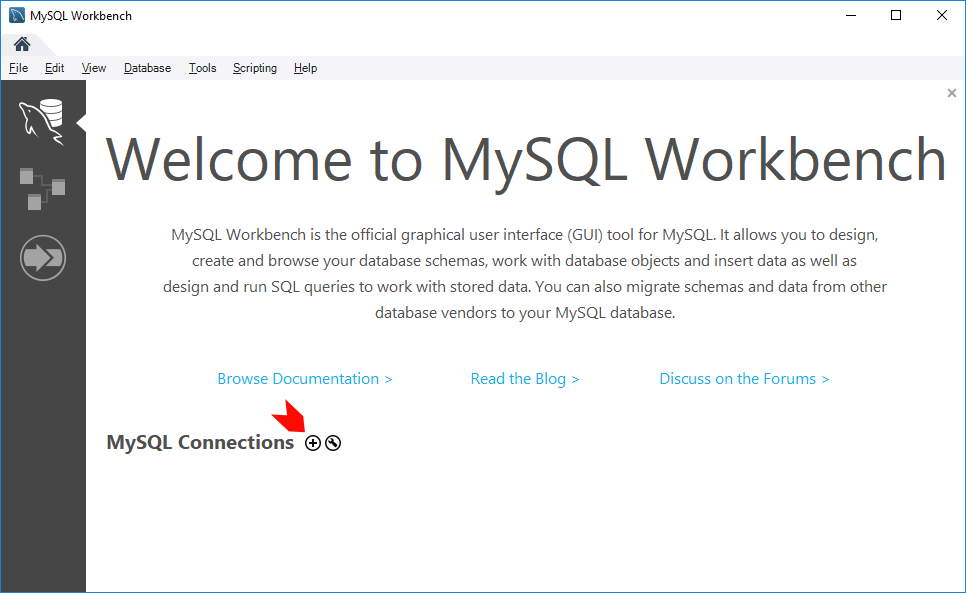 MySQL Workbench Add New Connection