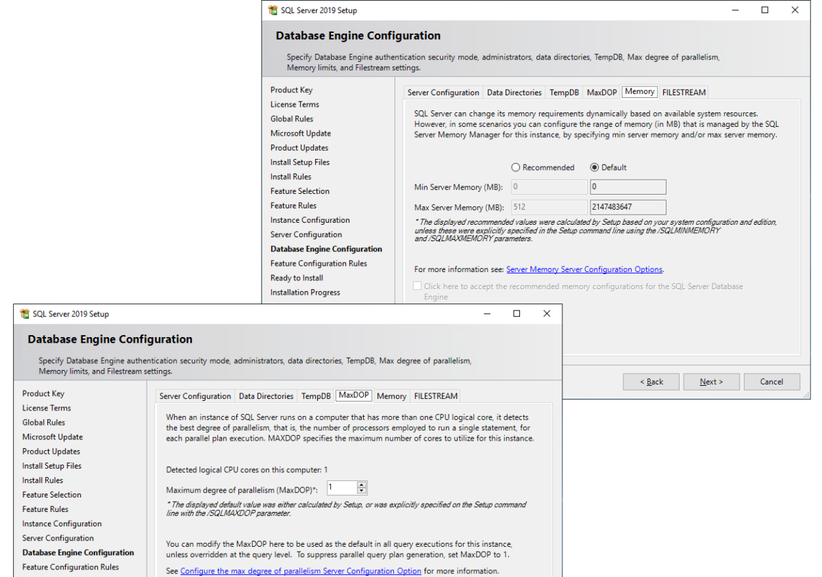 What's New in the SQL Server 2019 Installation Wizard