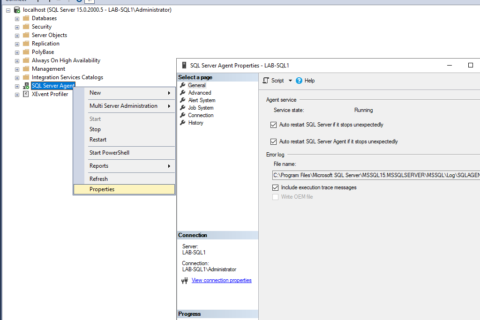 Include Execution Trace Messages in SQL Server