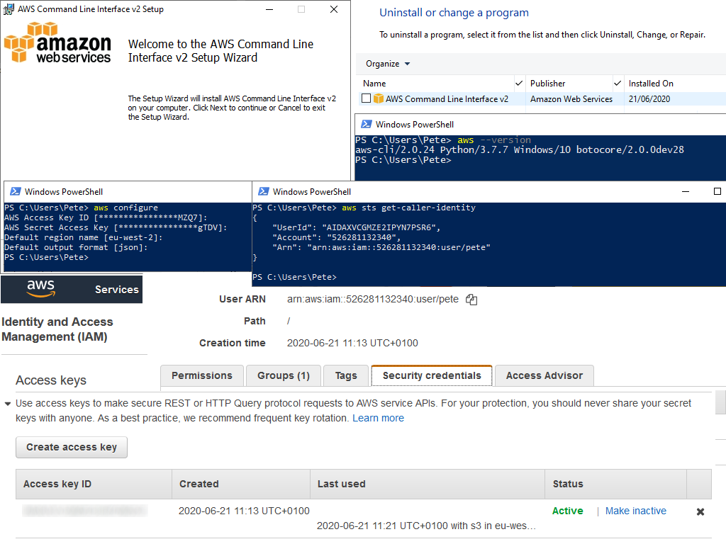 How to Install and Configure AWS CLI on Windows