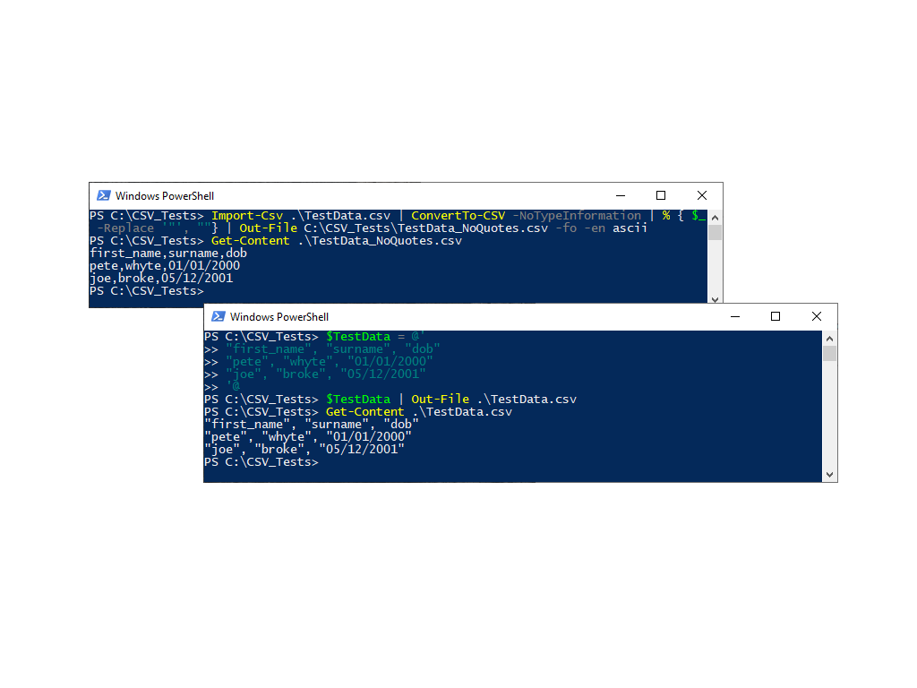 Remove Quotes from a CSV File with PowerShell